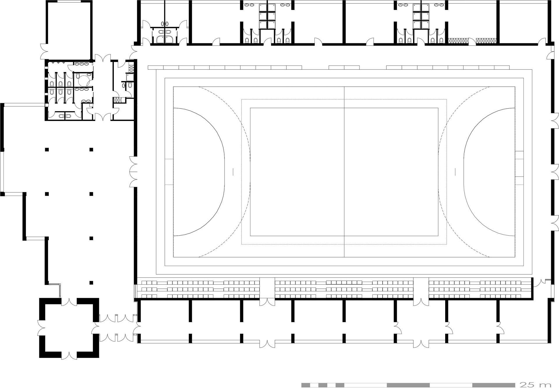 sal de sport n l zarea jud harghita proiecte arhitectura. Black Bedroom Furniture Sets. Home Design Ideas