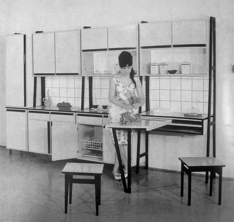 20. Kitchen furniture, Mobila, no. 3-4, 1965