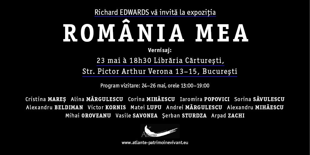 ROMÄNIA MEA 23 MAI Invitatie