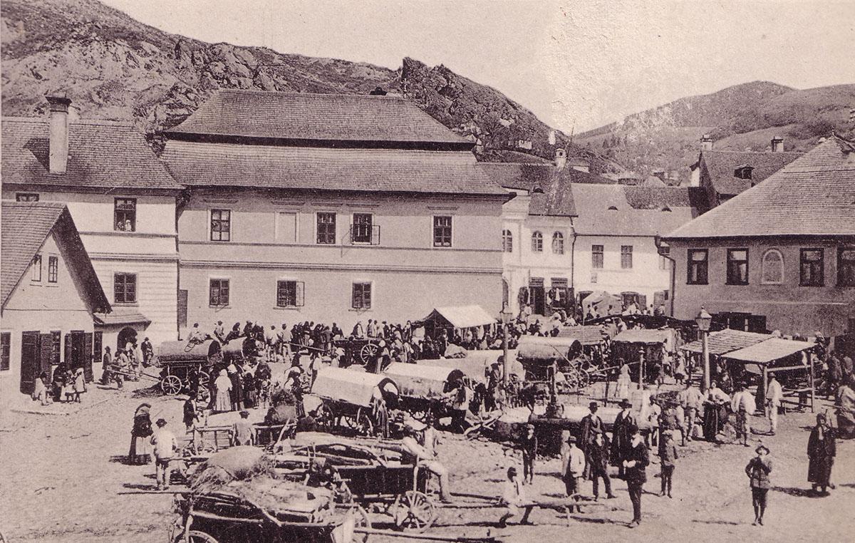 Roşia Montană la începutul secolului al XX-lea foto: Csiky Lajos, album Verespatak és környéke