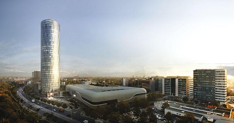 Sky Tower şi Promenada Mall Client:  Raiffeisen Property  International GmbH