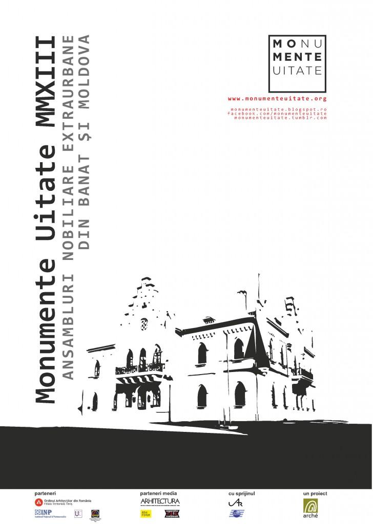 afis Monumente Uitate 2013