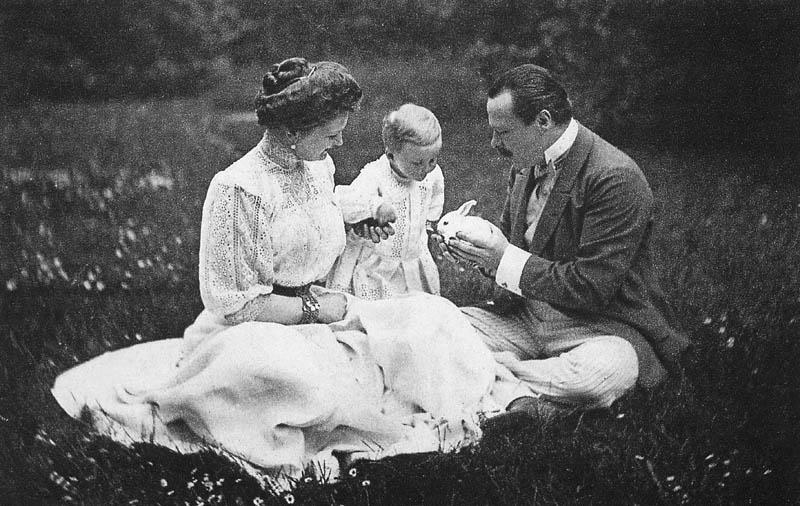 Familia ducală Von Hesse,  în 1908