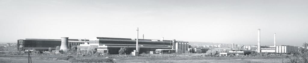 Combinatul de Utilaj Greu Iași - un colos industrial lăsat distrugerii (Foto: Radu Andrei)