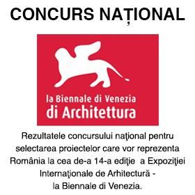 Concurs National Bienala de Arhitectura de la Venetia