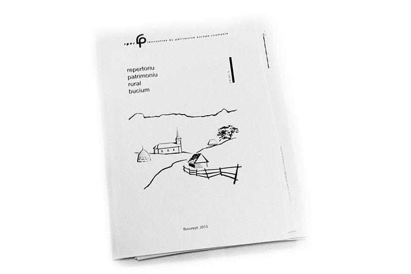 Patrimoniu rural Bucium, Caiet II, rezultatele ediției a II-a a UdV Bucium (2012), Coperta I