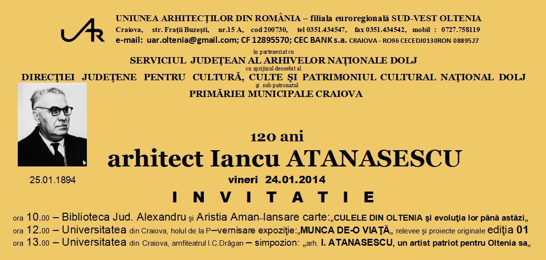 Invitatie email