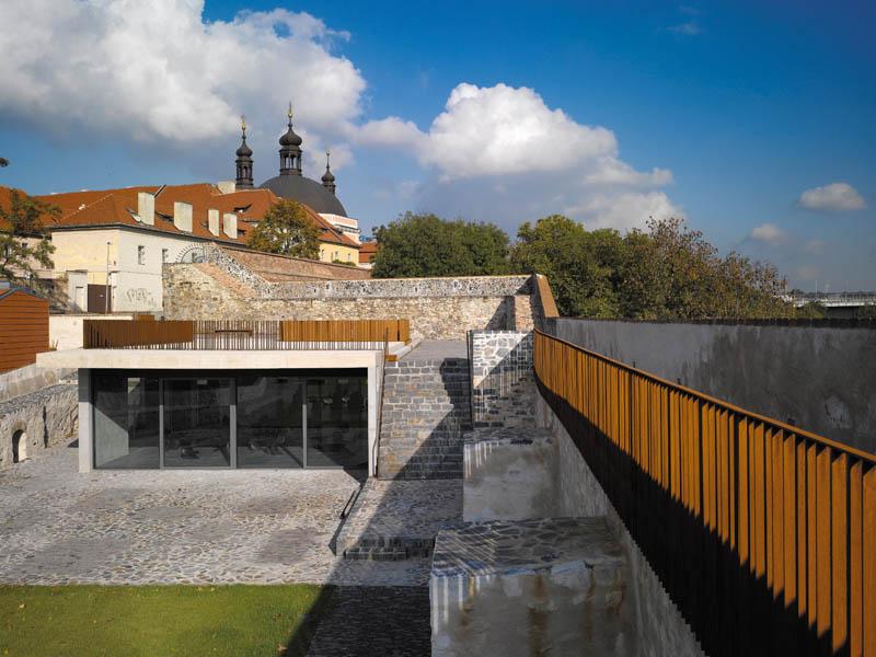 MCA Atelier Revitalizarea bastionului Crucifixului, Photo © Filip Šlapal and ©MCA atelier