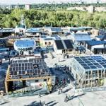 Satul Solar SDE - Madrid 2012 (PRISPA și Canopea, câştigătoarea ediţiei) © Solar Decathlon Europe 2012