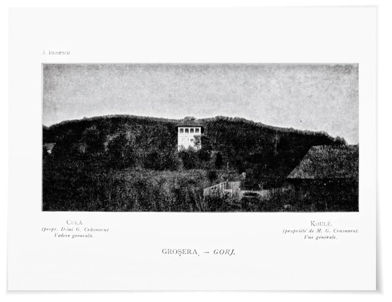 Ion Voinescu, Monumente de artă țărănească din România, Bucureşti, Carol Göbl, 1908,  ilustrația 8