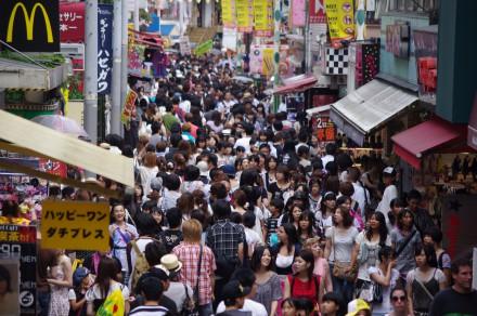 Jakub Hałun, Takeshita Street in Tokyo, 2010