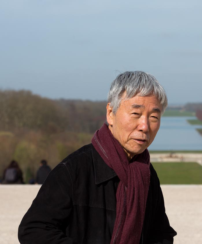 Portrait Lee Ufan à Versailles : Tadzio