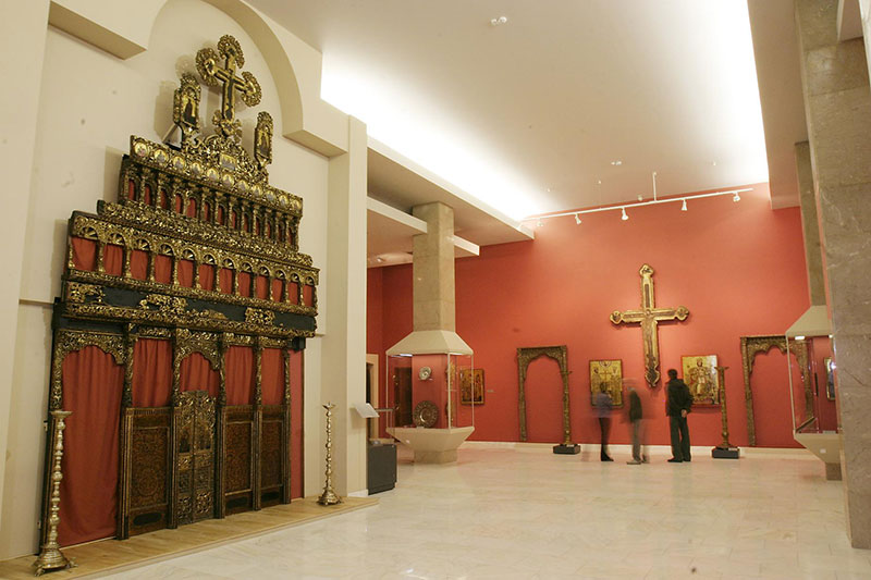 Galeria-de-Arta-Veche-Romaneasca,-arta-brancoveneasca