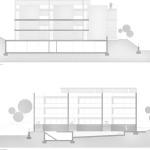 Fațada S și fațada N