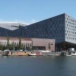 Balena, clădirea proiectată de arh. F. Van Dagen, Amsterdam
