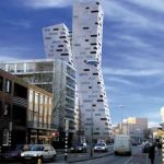 Mecanoo Architecten, turnuri rezidențiale în Heerlen)