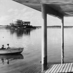View of the Pampulha Lagoon and the Museum, circa 1960 Arquivo Público Mineiro