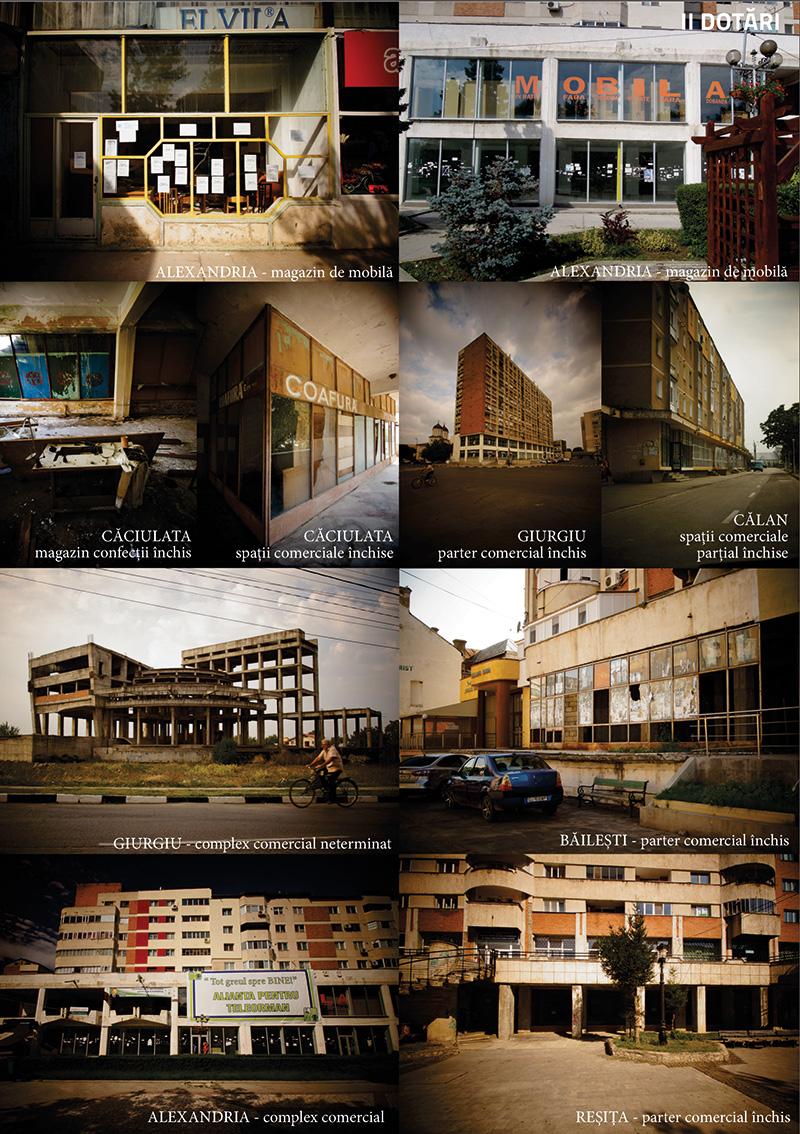 Dotări închise în orașe din România. Foto Tudor Constantinescu 2013. Apar în teza de doctorat a autoarei