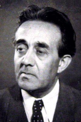 Arhitectul Marcel Maller  în 1953, Arhiva UAR