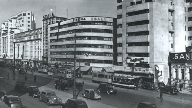 Imobilul și cinematograful Scala, Bd. Magheru 2