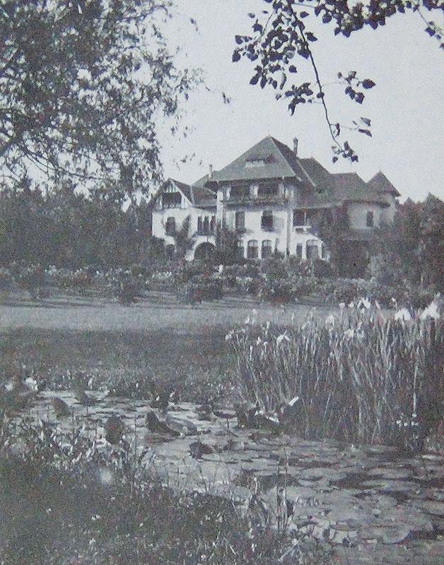 Conacul Știrbey din Dărmănești, județul Bacău