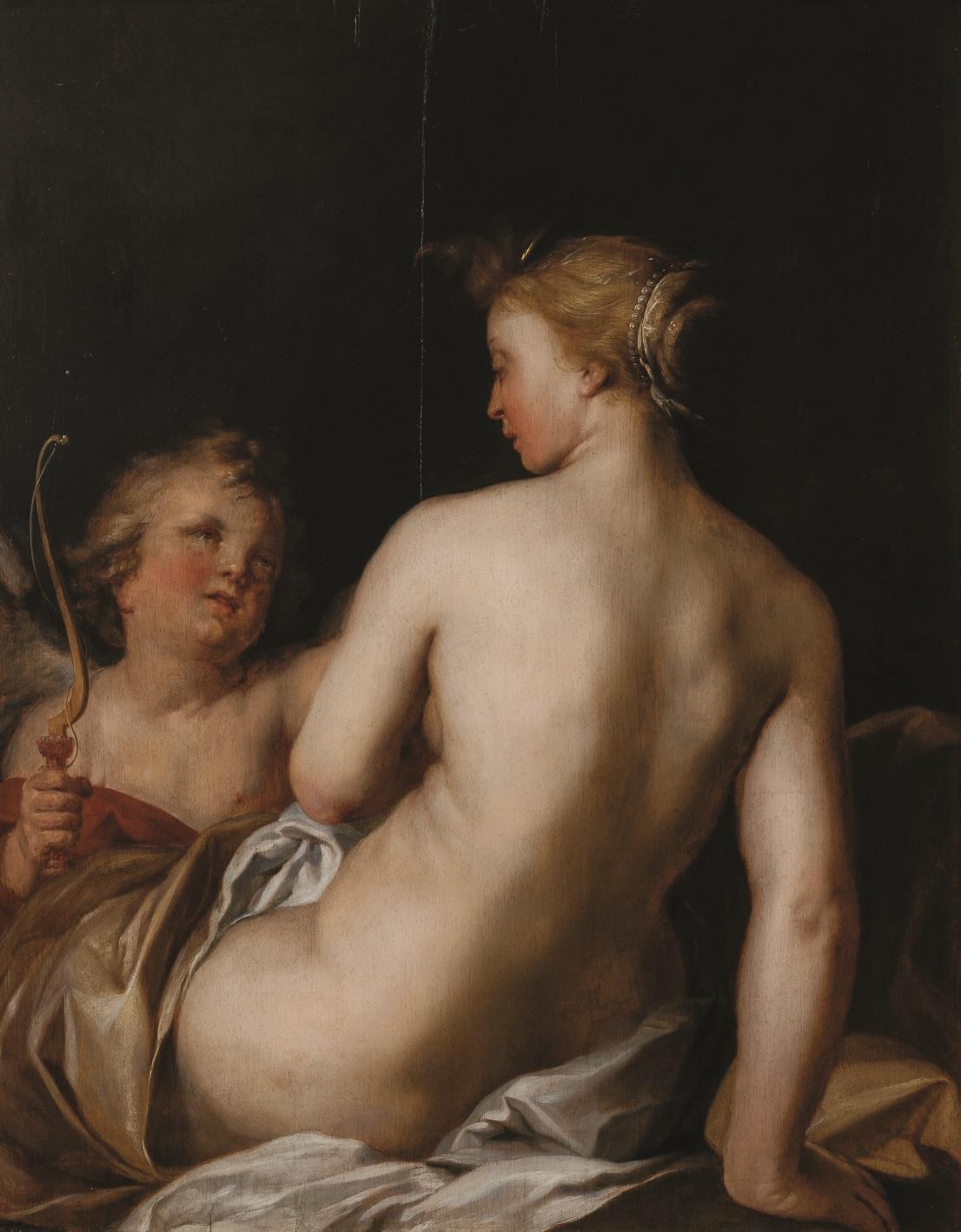 Abraham Bloemaert - Venus si Amor, 1635-1640