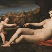 Jacopo Palmo cel Batran - Venus si Amor, 1523-1524