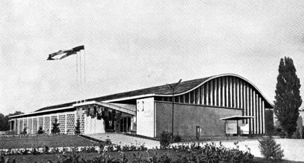 Pavilionul H, Parcul Herăstrău Bucureşti, Cezar Lăzărescu ş.a. Arhitectura românească contemporană, Editura Meridiane, 1972