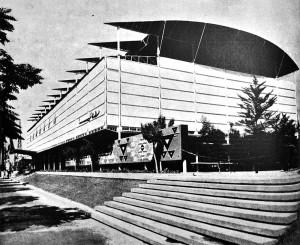 Pavilionul României din Damasc, Arhitectura R.P.R. nr.8/1957, p. 40
