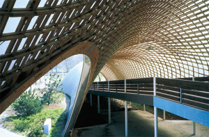 Frei Otto Roof for the Mannheim Multihalle.