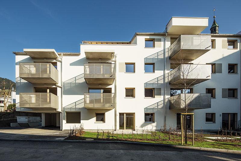 Imobil de locuințe cu module elastic_LIVING® 51mp, Dornbirn-Schlossbräu, 2014