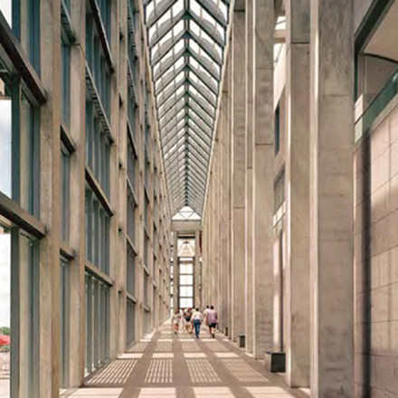 National Gallery of Canada in Ottawa. Image courtesy of Timothy Hursley;