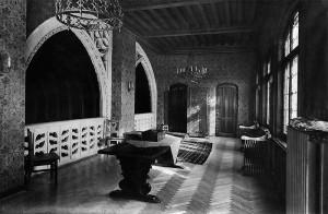 Interior reședința Ilie I. și Tațiana Niculescu-Dorobanțu, 1939 © Stănescu;