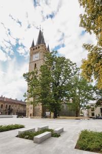 Turnul Ștefan, obiectivul principal al ansamblului reabilitat;