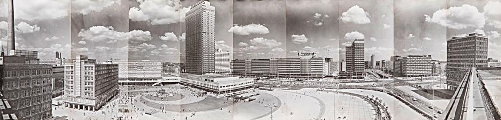 Panoramă Alexanderplatz © Heinz Lieber