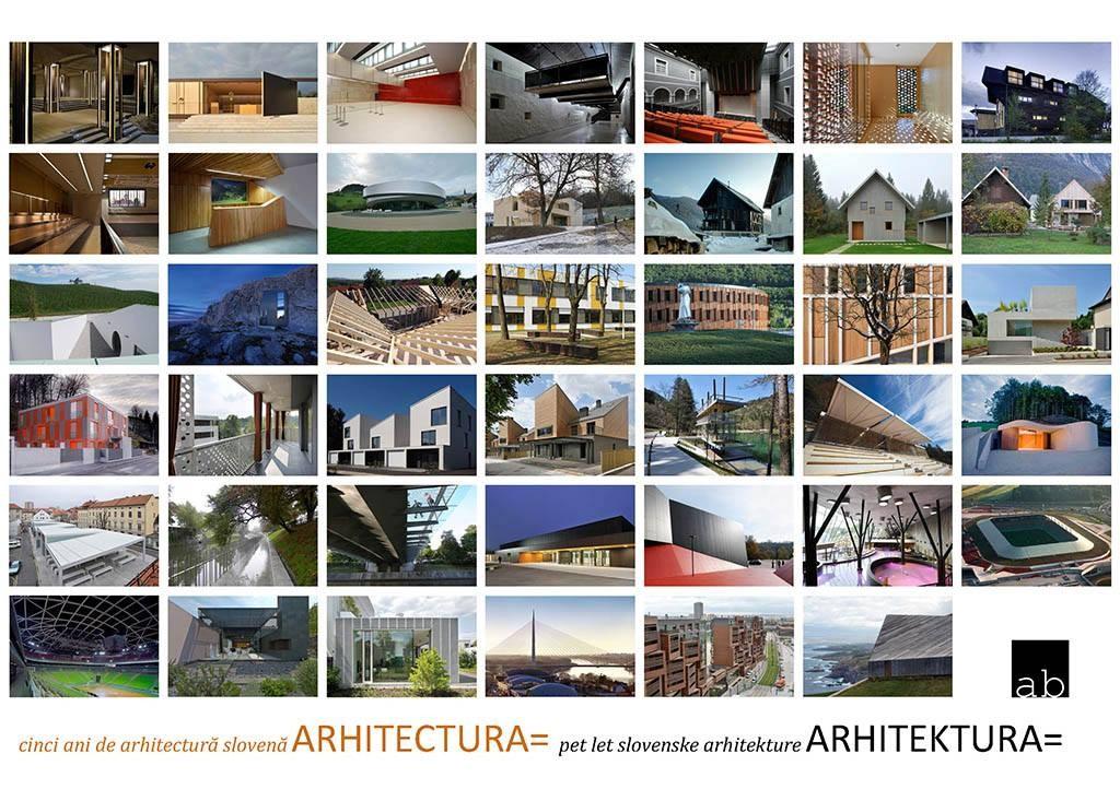 Cinci ani de arhitectura slovena