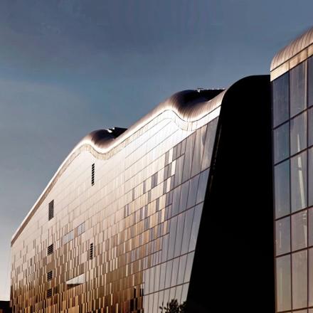 Centrul de Congrese din Cracovia, detaliu fațada sudică/ ICE Krakow Congress Centre, southern façade detail
