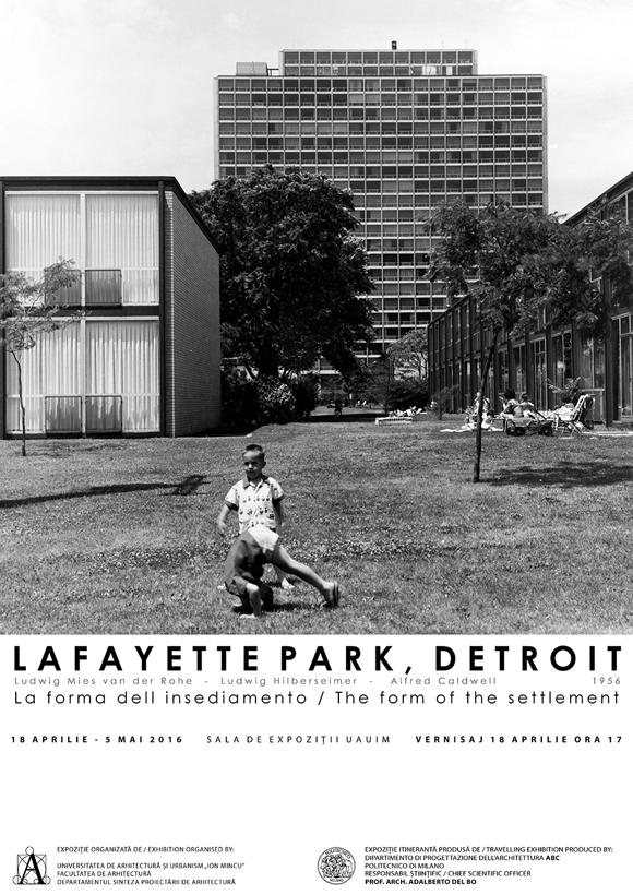Expozitie Lafayette Park, Detroit