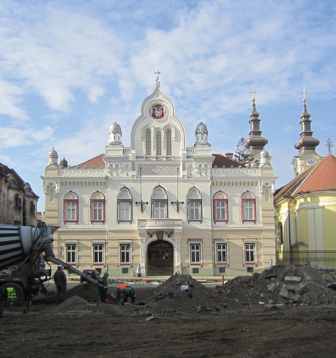 Restaurarea Palatului Episcopal Ortodox Sârb