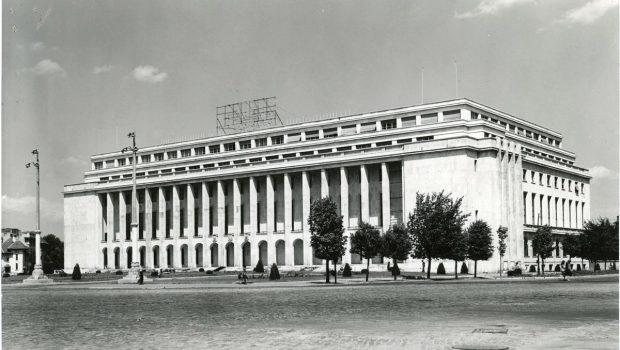 Duiliu Marcu, Palatul Ministerului de Externe/ Consiliului de Miniștri/ Ministry of Foreign Affairs/ Council of Ministers Palace, București (1937-1952) © Arhiva fotografică a UAR