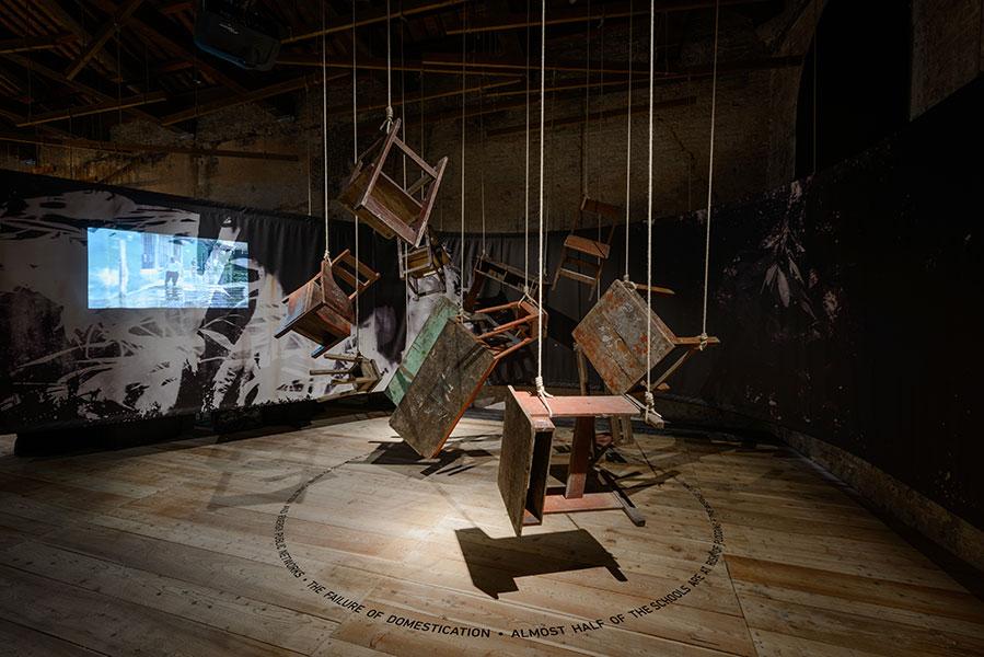 PERU - OUR AMAZON FRONTLINE (15th International Architecture Exhibition - La Biennale di Venezia, REPORTING FROM THE FRONT) Photo: Andrea Avezzù. Courtesy: La Biennale di Venezia