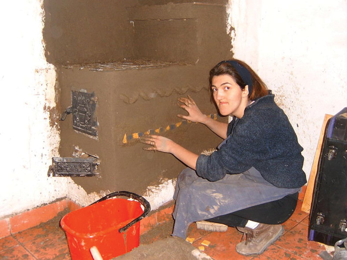 Stanciova making of stove