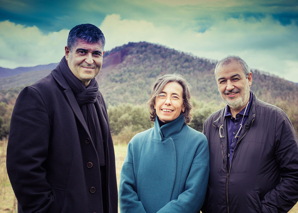 Rafael Aranda, Carme Pigem and Ramon Vilalta  / Photo by Javier Lorenzo Domínguez
