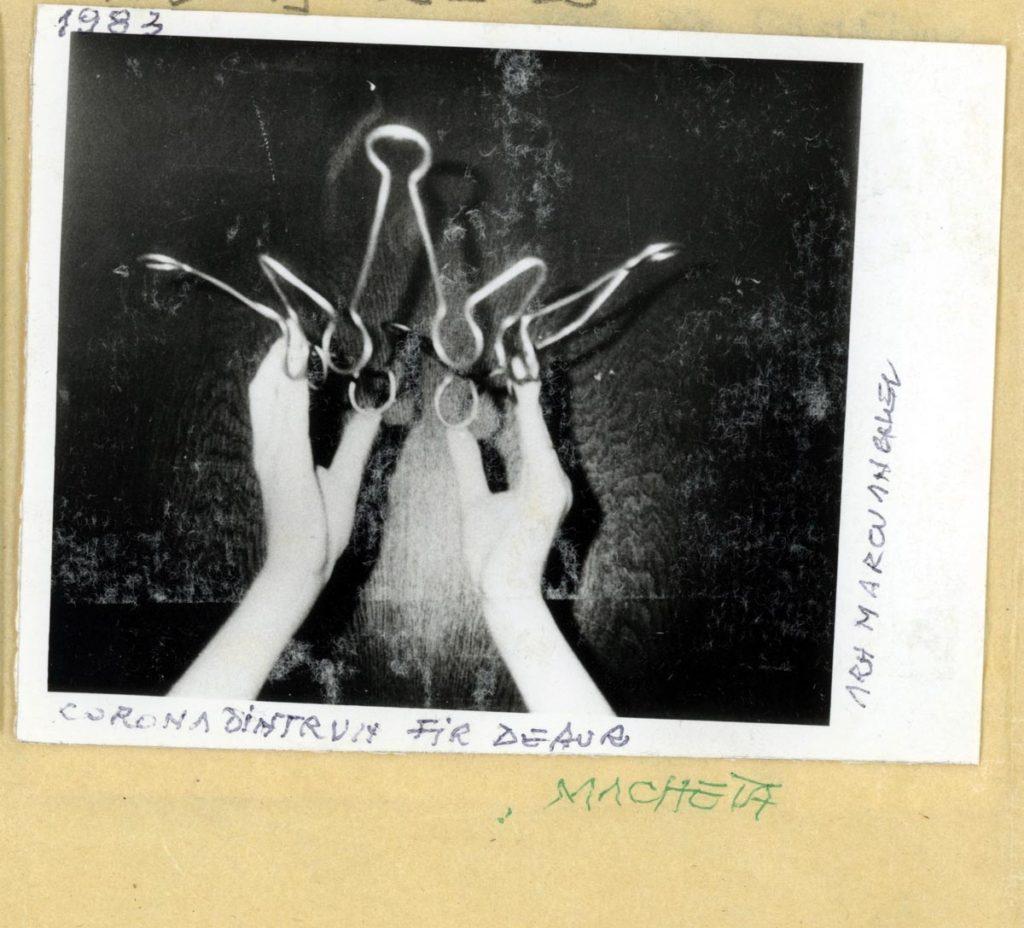 Anghel Marcu. Coroană dintr-un fir de aur. 1983