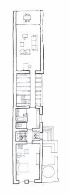 Casa Albă, plan etaj