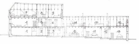Casa Albă, secțiune