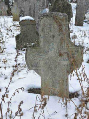 Fig. 12 Cruce de secol XIX, Ştefăneşti, Călăraşi, cimitirul parohial;