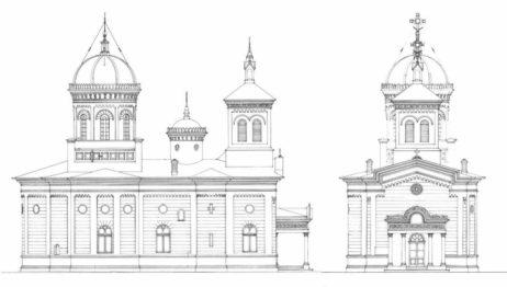 Releveul bisericii (1927) - arhiva UAUIM-DITACP;