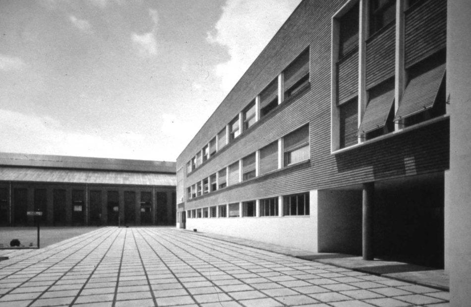 Pavilionul administrativ, 1936