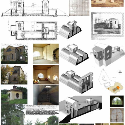 Centrul de cultura urbana si arhitectura-existent